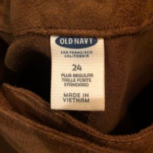 Suede Snap Old Navy Skirt